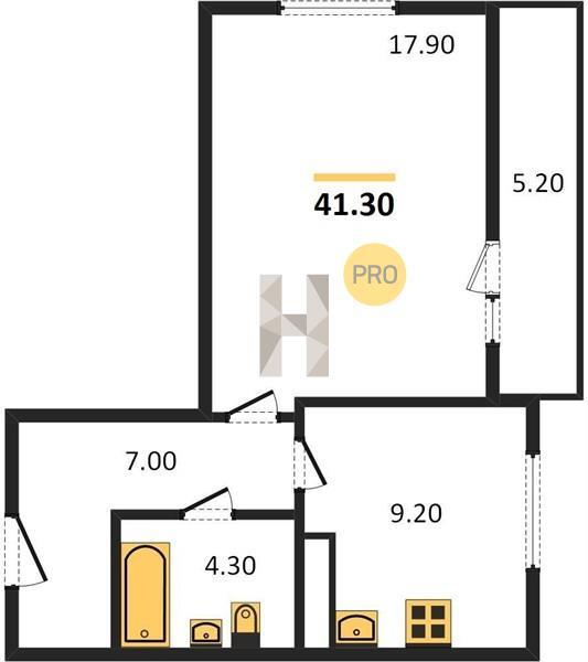 1-комнатная квартира в ЖК Люберцы 2017